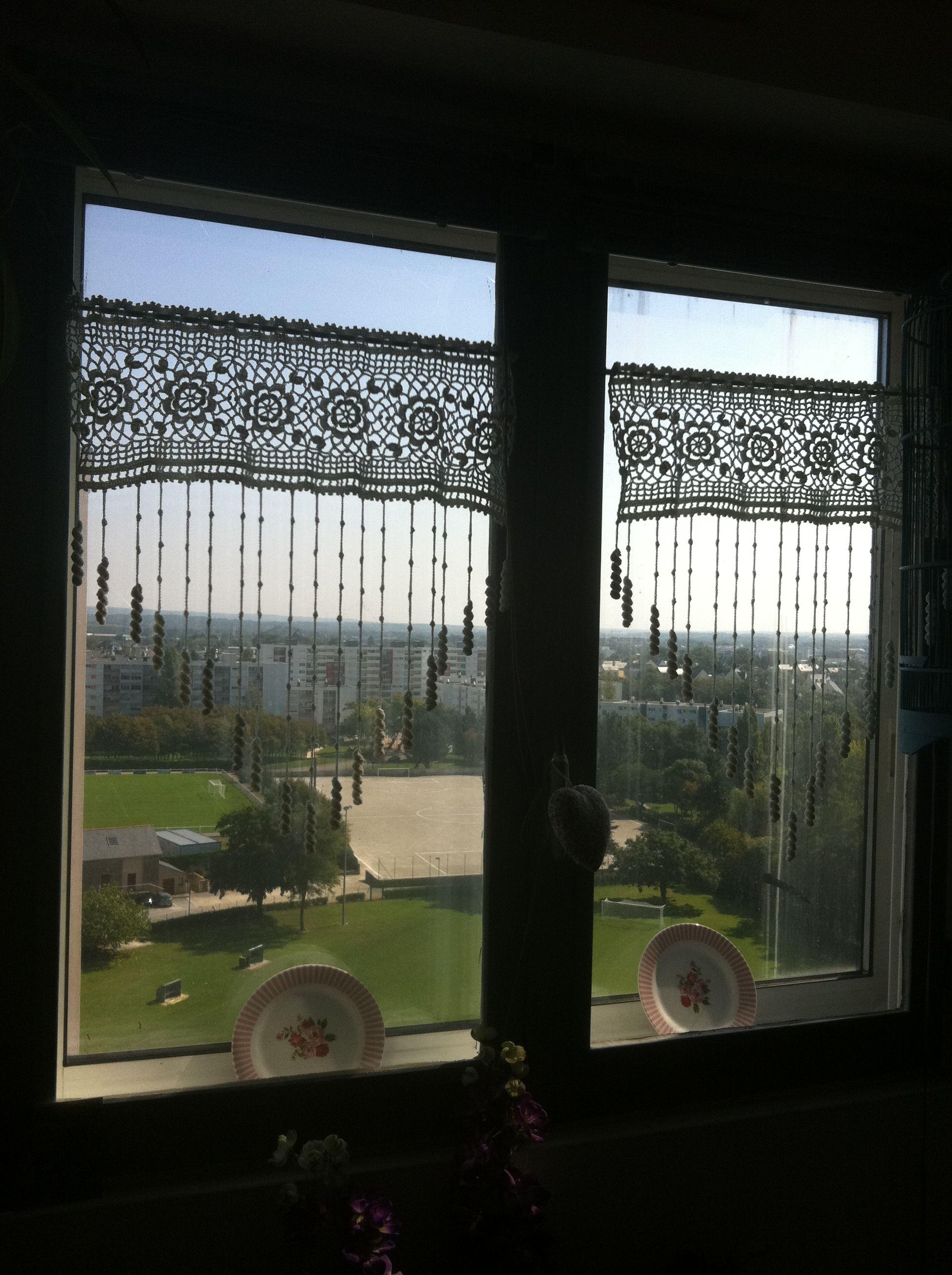 Home decoration autrefois rideaux - Rideaux Anemones Pour Un Appartement A Vannes