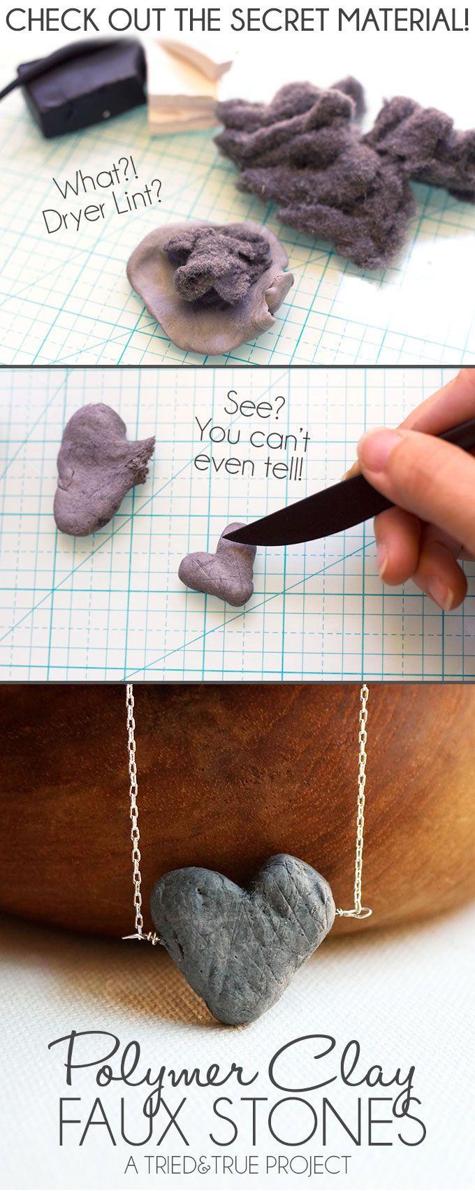 Faux Stone Jewelry with Polymer Clay - Tried & True
