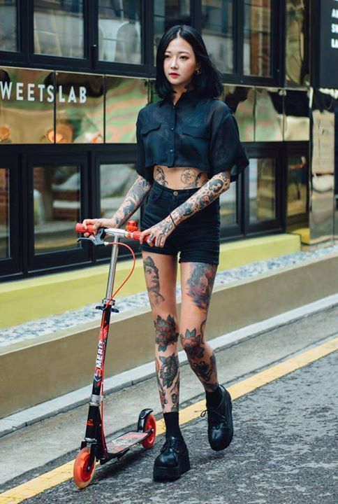 Photo of TATTOOED LADY