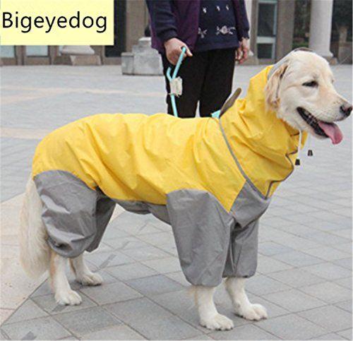 Fundodo Dog Raincoat Large