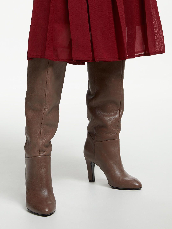 77cbf85b1b0 John Lewis   Partners Sienna Knee High Slouch Boots
