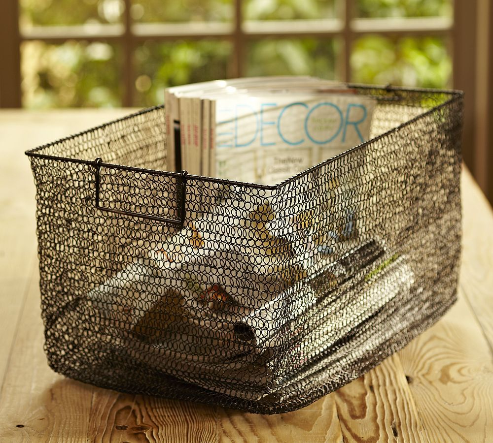 Great For Organizing Wire Baskets Vintage Wire Baskets