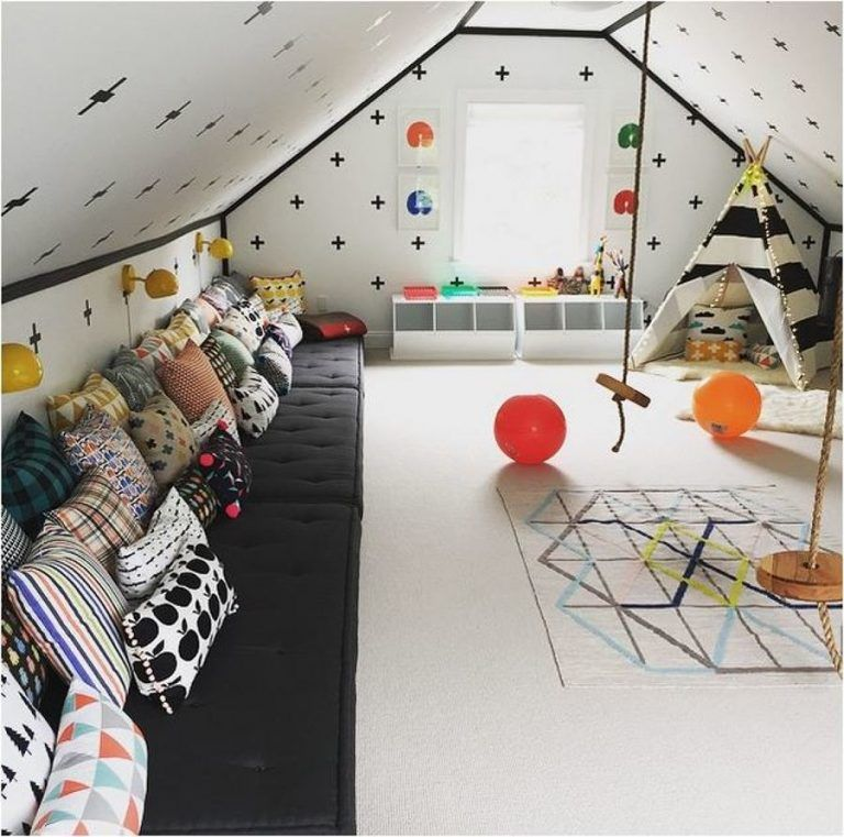 10 Inspirational Attic Kids Room Kid Room Decor Kids Room