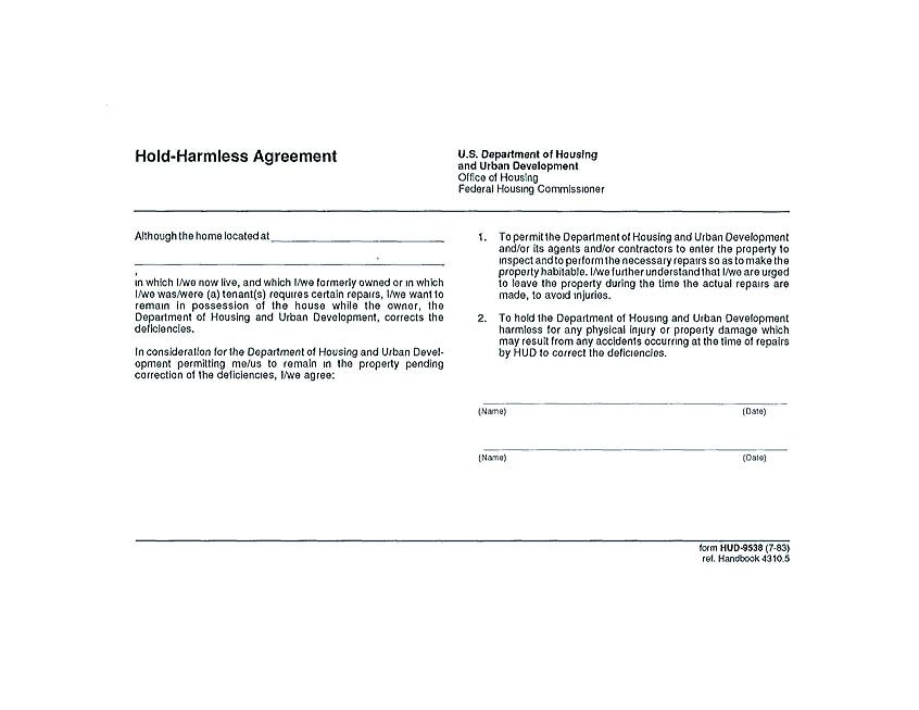hold harmless agreement free making hold harmless agreement template for different purposes hold harmless