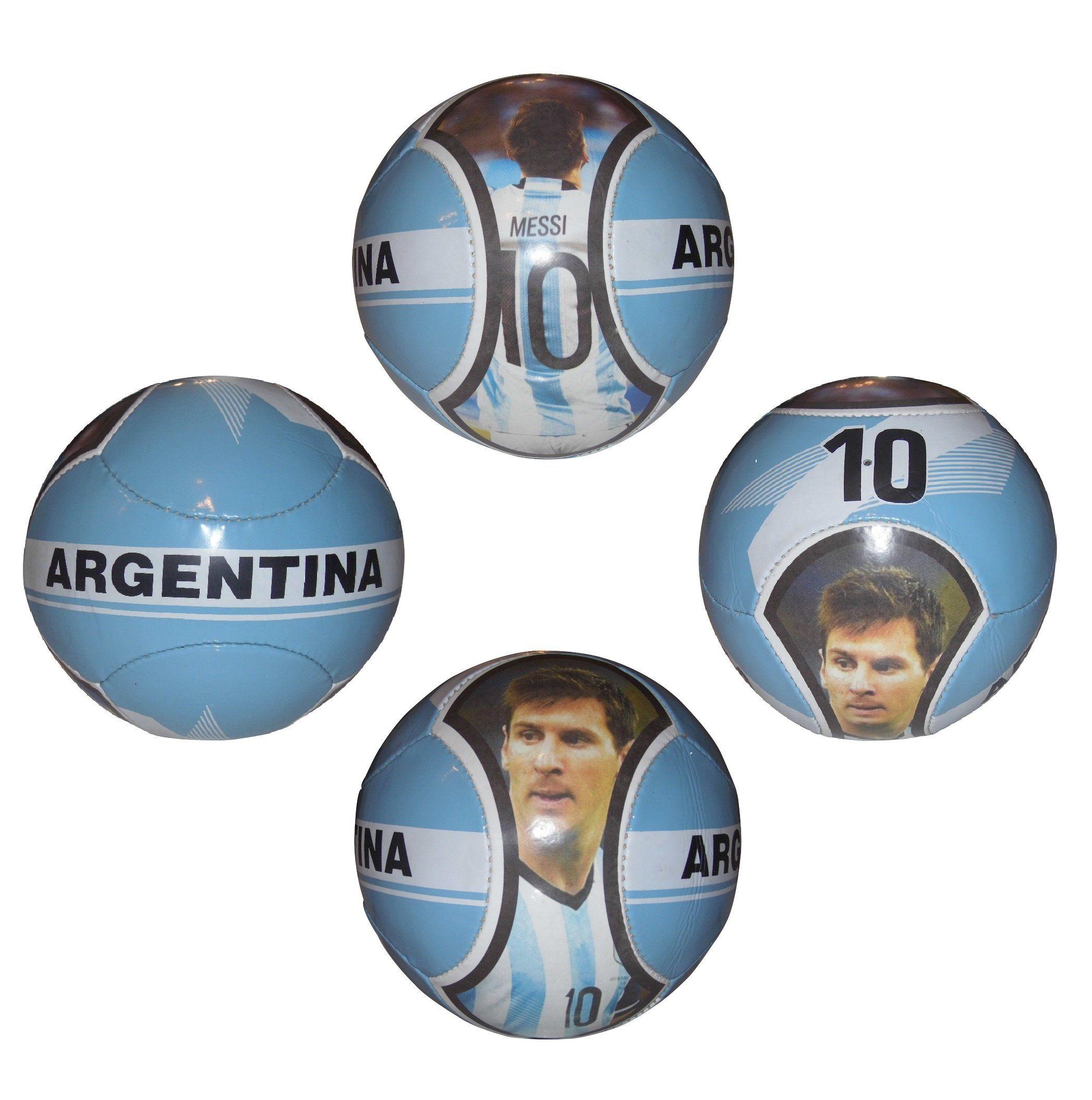 Forever Fanatics Argentina Messi 10 Soccer Ball Kids