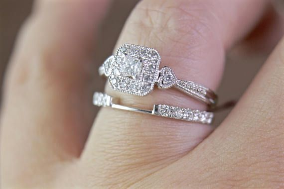 Image result for Why Get a 14k White Gold Round Antique Engagement Ring in Dallas?