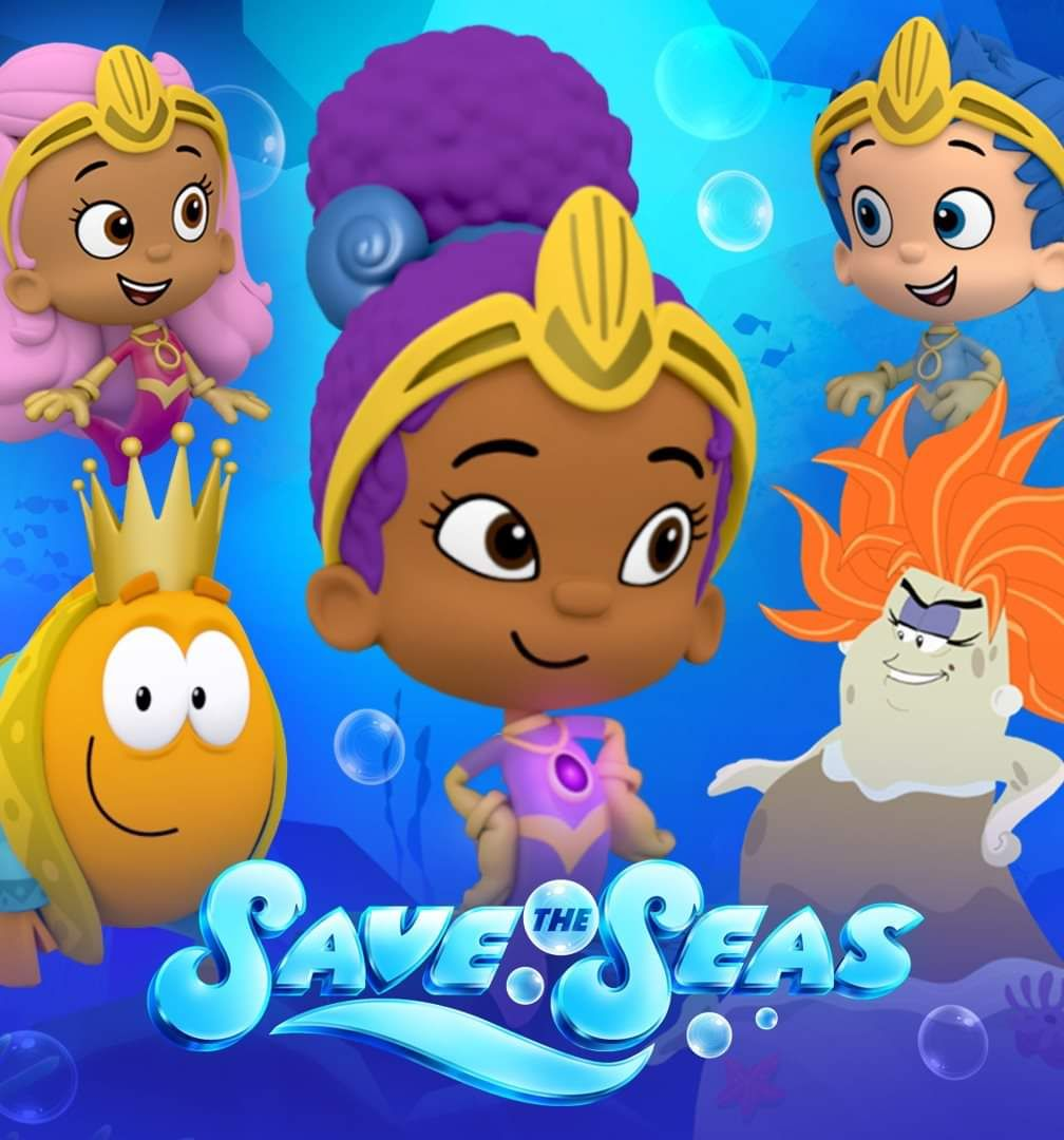New Bubble Guppies Save The Seas Bubble Guppies Party Bubble Guppies Bubble Guppies Cake
