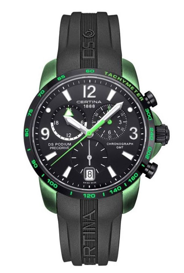 Certina Ds Podium Chrono Big Size Gmt Precidrive Aluminium Http Www Zegarki Krakow Pl Zegarki Certina Ds P Certina Watches Rolex Watches For Men Watch Design