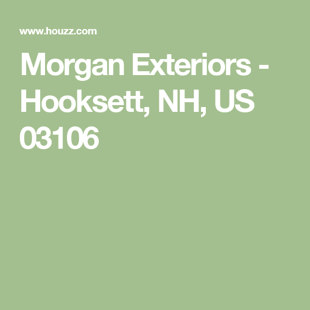 Morgan Exteriors Hooksett NH US 03106 Porch Pinterest