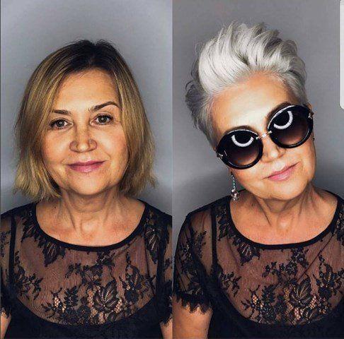 Photo of Neue Haarschnitt für Frauen ab 50