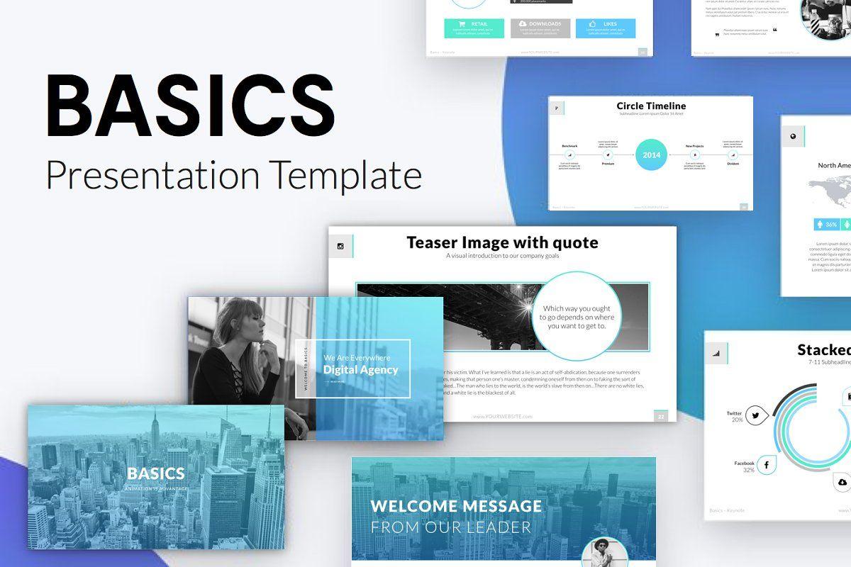 BASICS Keynote Template Giftpresentation design  presentation layout  presentation  presentation board design  presentation template