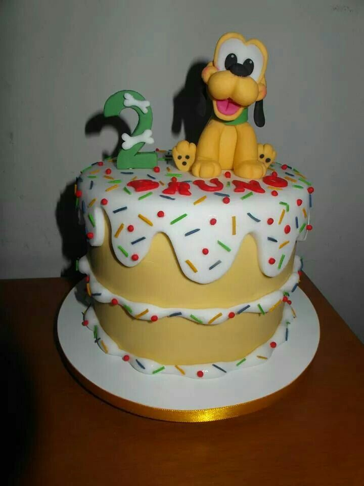 Fabulous Cake Pluto With Images Goofy Cake Cool Cake Designs Birthday Funny Birthday Cards Online Elaedamsfinfo