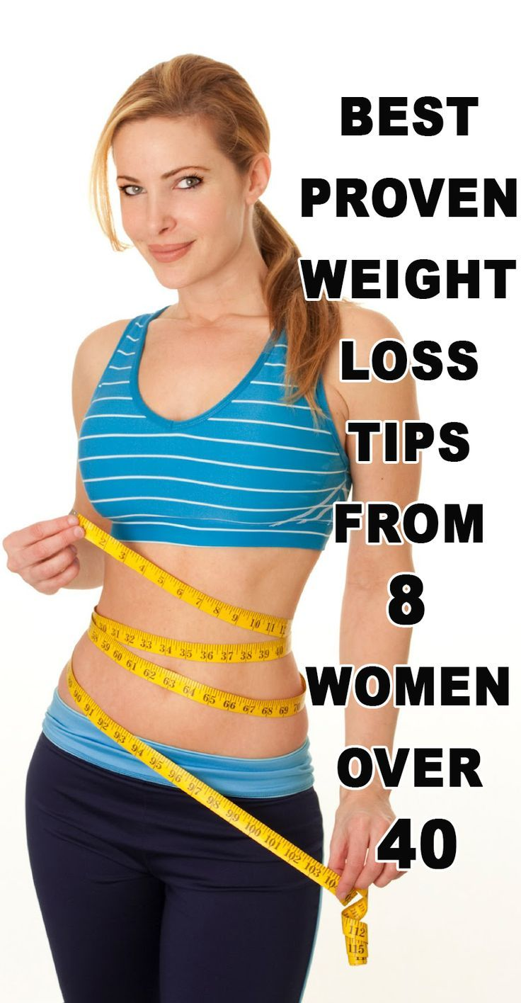 The Best Weight Loss Tips From 8 Women Over 40 Who Lost 40 Pounds