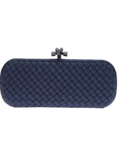 BOTTEGA VENETA Woven Box Clutch
