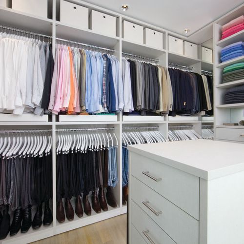 10X10 Closet Design Ideas, Remodels & Photos | Master Closet Ideas ...