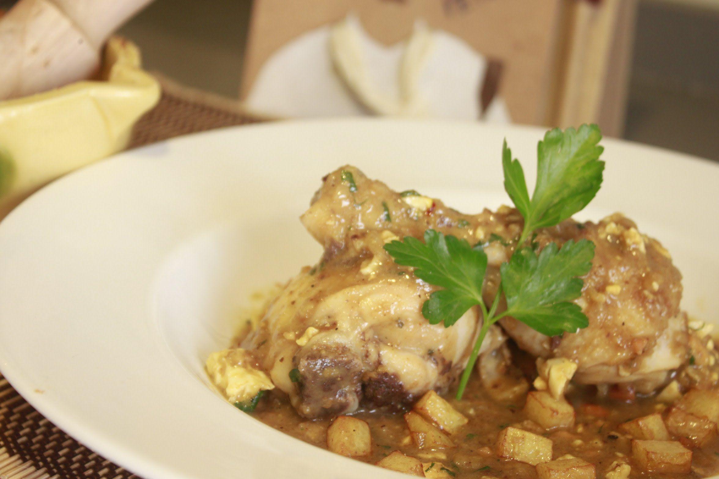 Pollo En Pepitoria I Recetas De Cocina Pollo En Pepitoria Pollo En Salsa Pollo