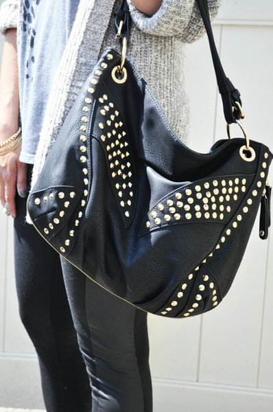 caf50c89790b Denise scored this MMS studded bag for  29.99