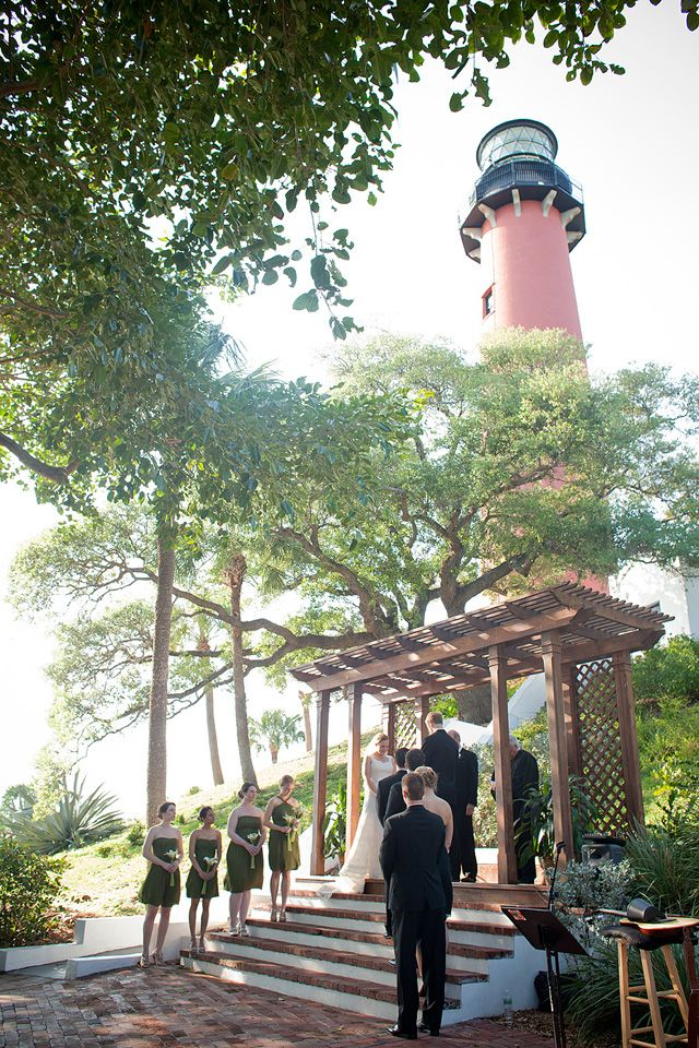 Wed Lindsay B At The Jupiter Lighthouse