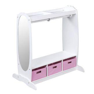 Guidecraft Dress Up Storage Closet - Color: White
