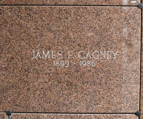 Grave Marker James Francis Cagney Jr Actor Yankee