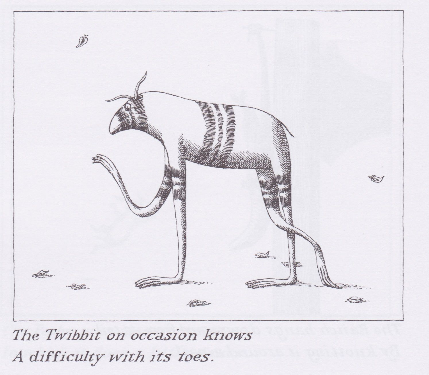 The Utter Zoo, Edward Gorey