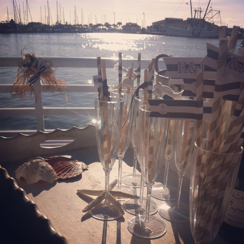 Yacht wedding decorations  Nautical yacht wedding yachtwedding  Yacht ideas  Pinterest