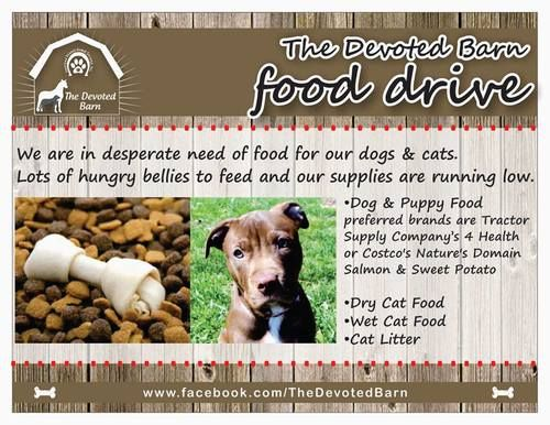 Give The Devoted Barn Please Help Donate Food For The