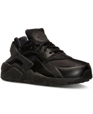 687a11f8c5db Nike Women s Air Huarache Run Running Sneakers from Finish Line - Black 6.5