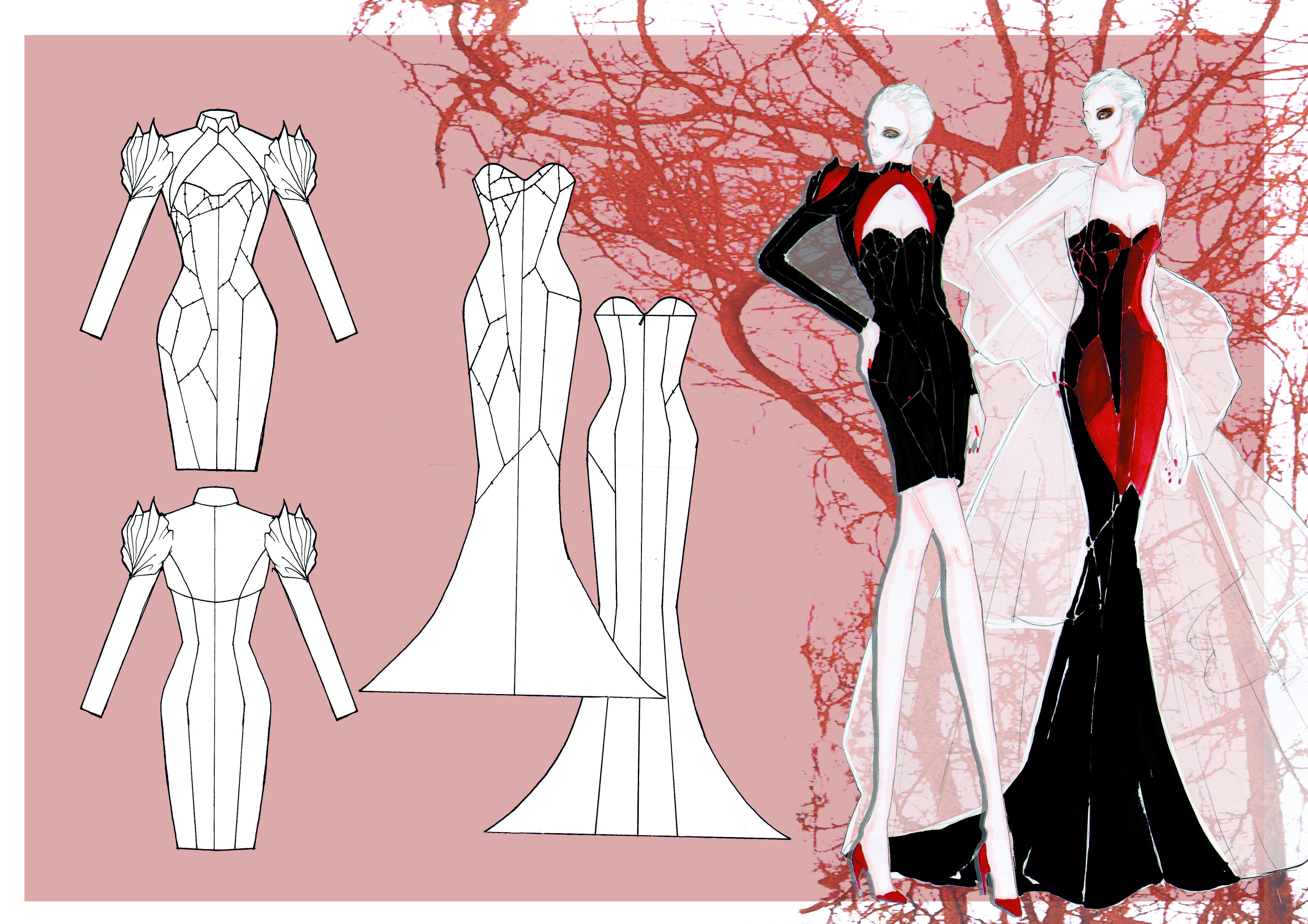 Bachelor Fashion Design Technology Moda Cizimleri Moda Cizim