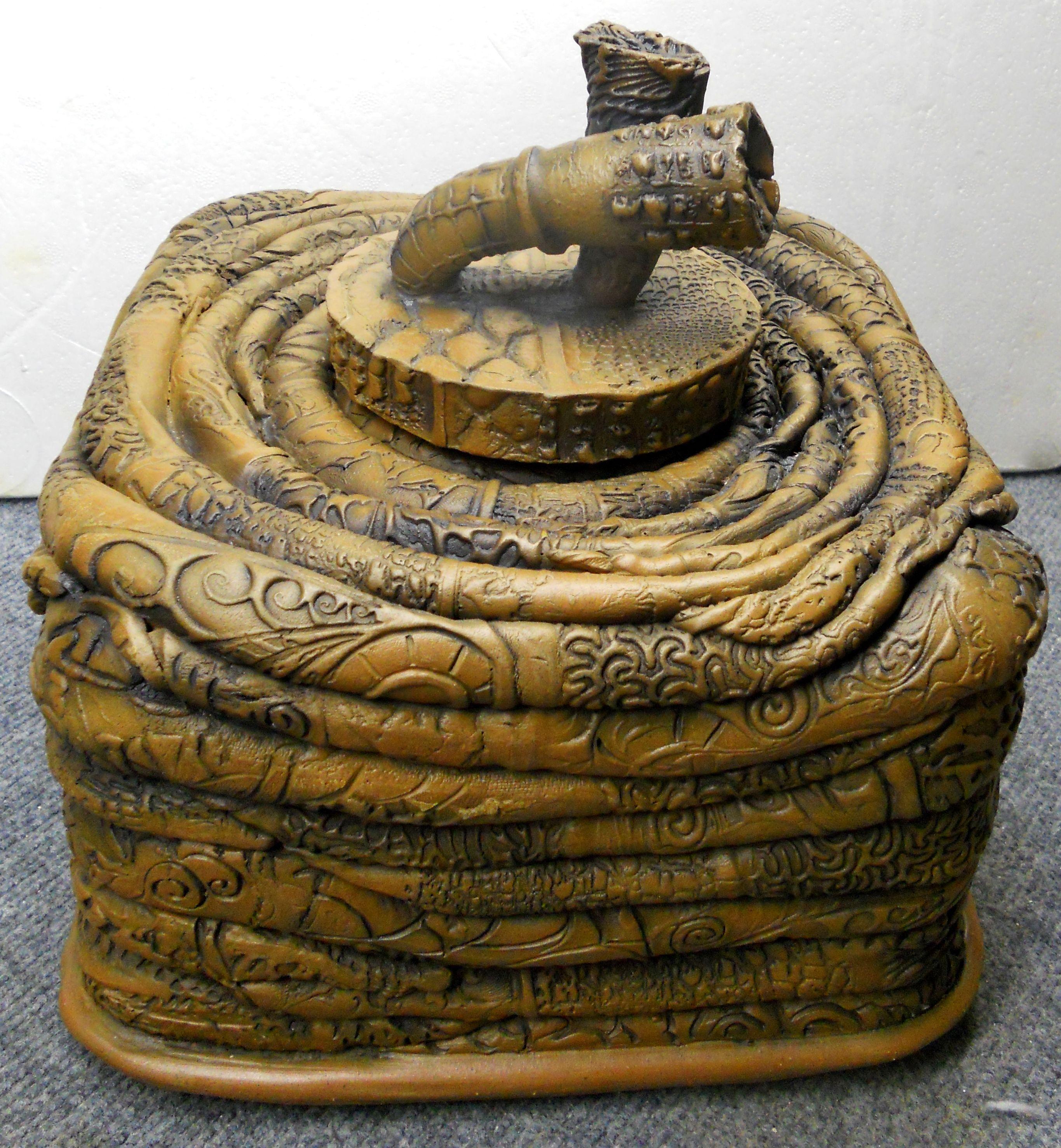 Ceramic box shape by Blayne.
