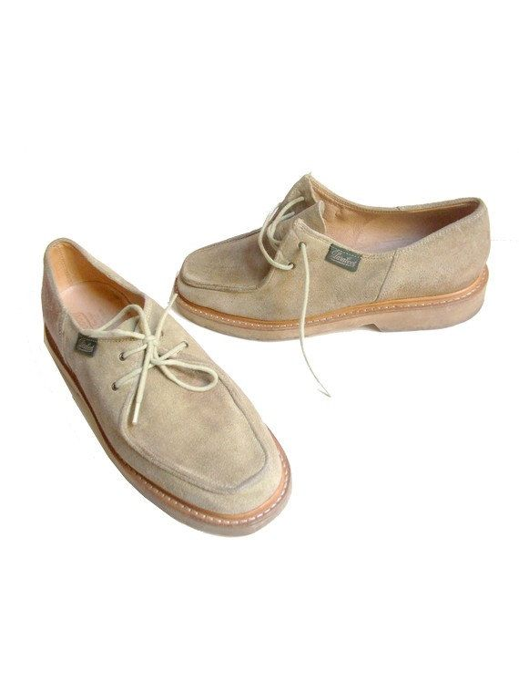 size 6 PARABOOT french vintage shoes by lesclodettes on Etsy, $65.00