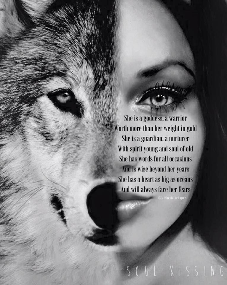 She is a goddess, a warrior Worth more than her weight in gold She is a guardian, a nurturer With sp