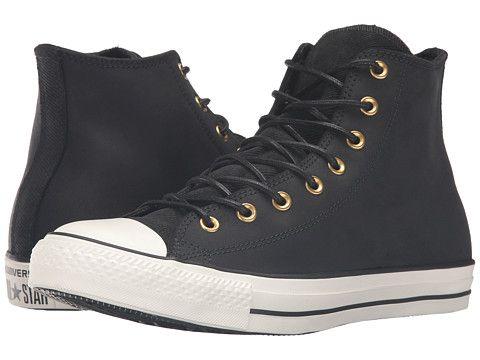 Converse Chuck Taylor All Star Hi Leather Corduroy Black