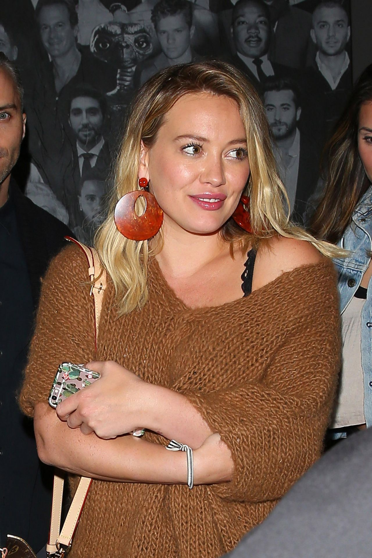 Hilary duff night out style leaving catch in west hollywood oct