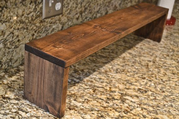 Over The Sink Shelf Rustic Kitchen Shelf Free by CratesAndPine