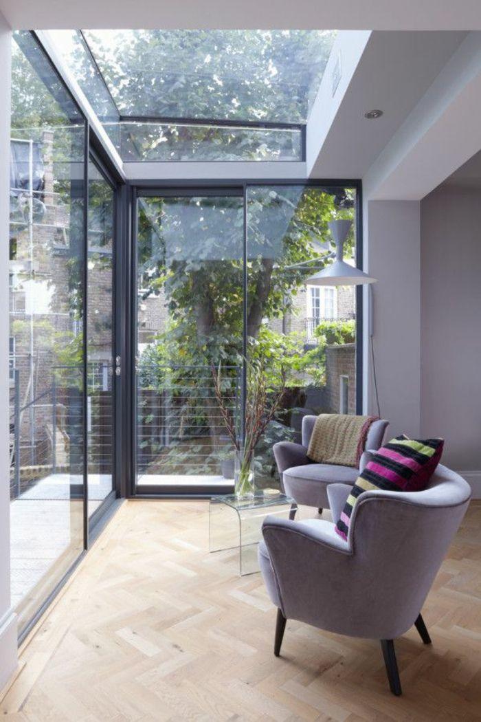 La fenêtre de toit en 65 jolies images - maison toit en verre
