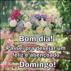 Bom Dia E Bom Domingo Print Domingo Good Morning E Good Day