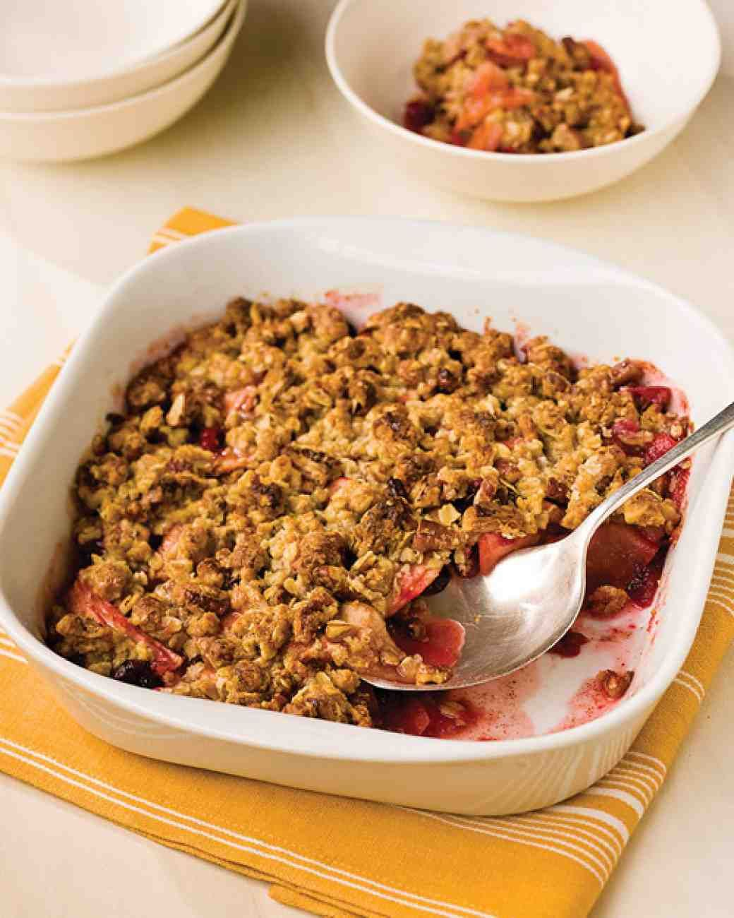 how to make crublefor apple crumble