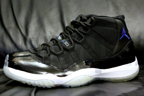 99d5b7f57266 Nike AIR JORDAN XI SPACE JAM 9 10 11 BLACK BLUE spacejam 11 ds rare new  bnib