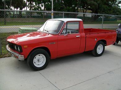1976 Chevy Luv Light Utility Vehicle Built By Isuzu Chevy