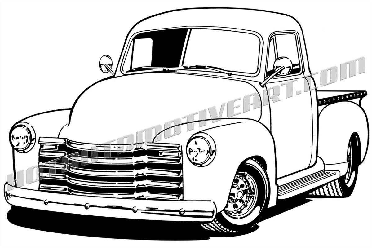 Pin by eric west on printables Chevy pickup trucks