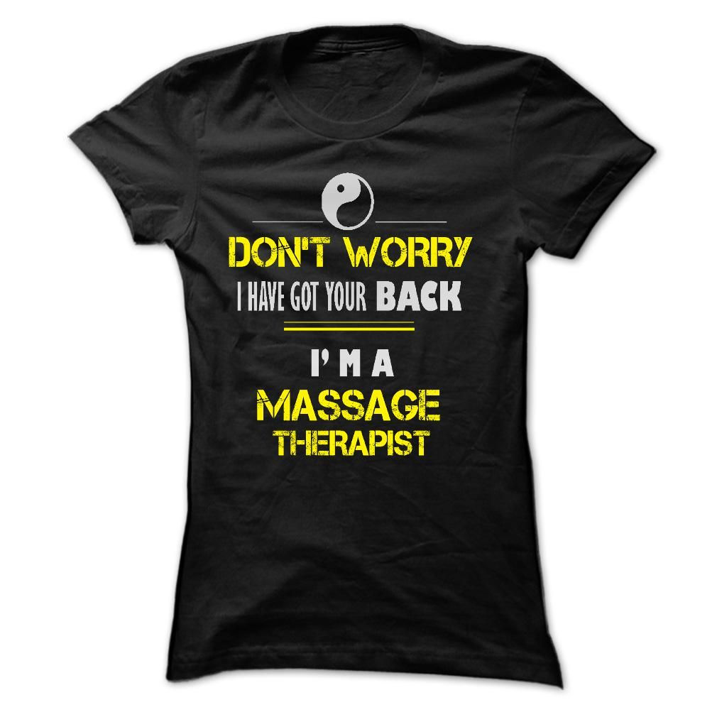 I love this t-shirt. You can get one too if you click on this link.    https://www.sunfrog.com/MASSAGE-THERAPIST-1810-Black-f7sv-Ladies.html?52207  Please share this with your Massage Therapy friends.  It's a screen print and not an iron on so it lasts a long time. You can choose from 5 colors.