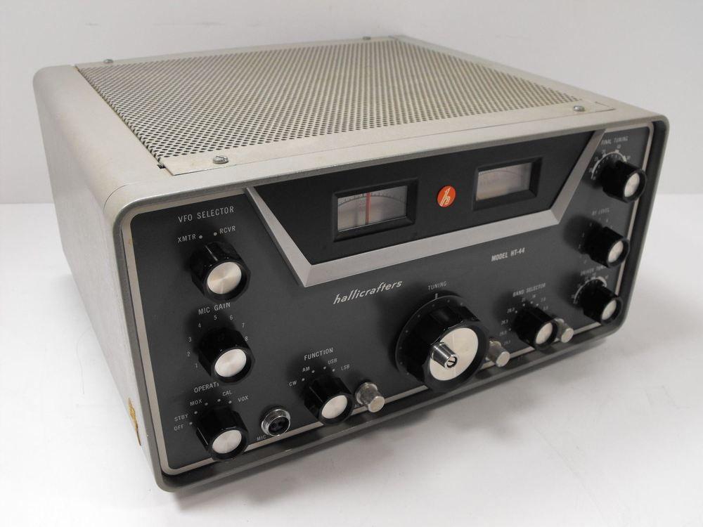 Hallicrafters Ht 44 Ham Transmitter For Parts Or Restoration Sn 344001 425026 Ebay Transmitter Radio Ham Radio