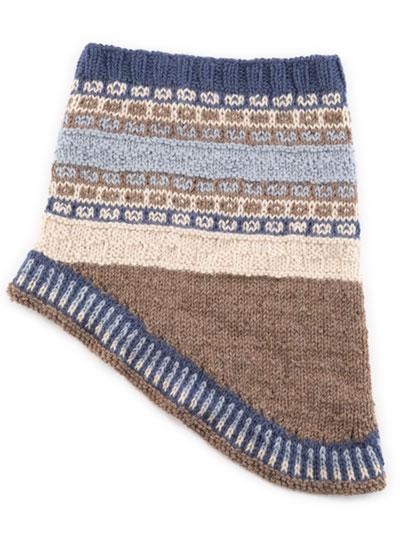 SIGNATURE DESIGNS: Fair Isle Gansey Knit Cowl Pattern in ...