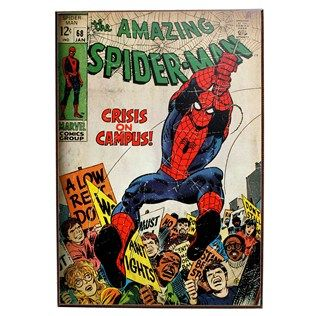 Marvel Batman or Spiderman Comic Book Wall Art | Shop Hobby Lobby