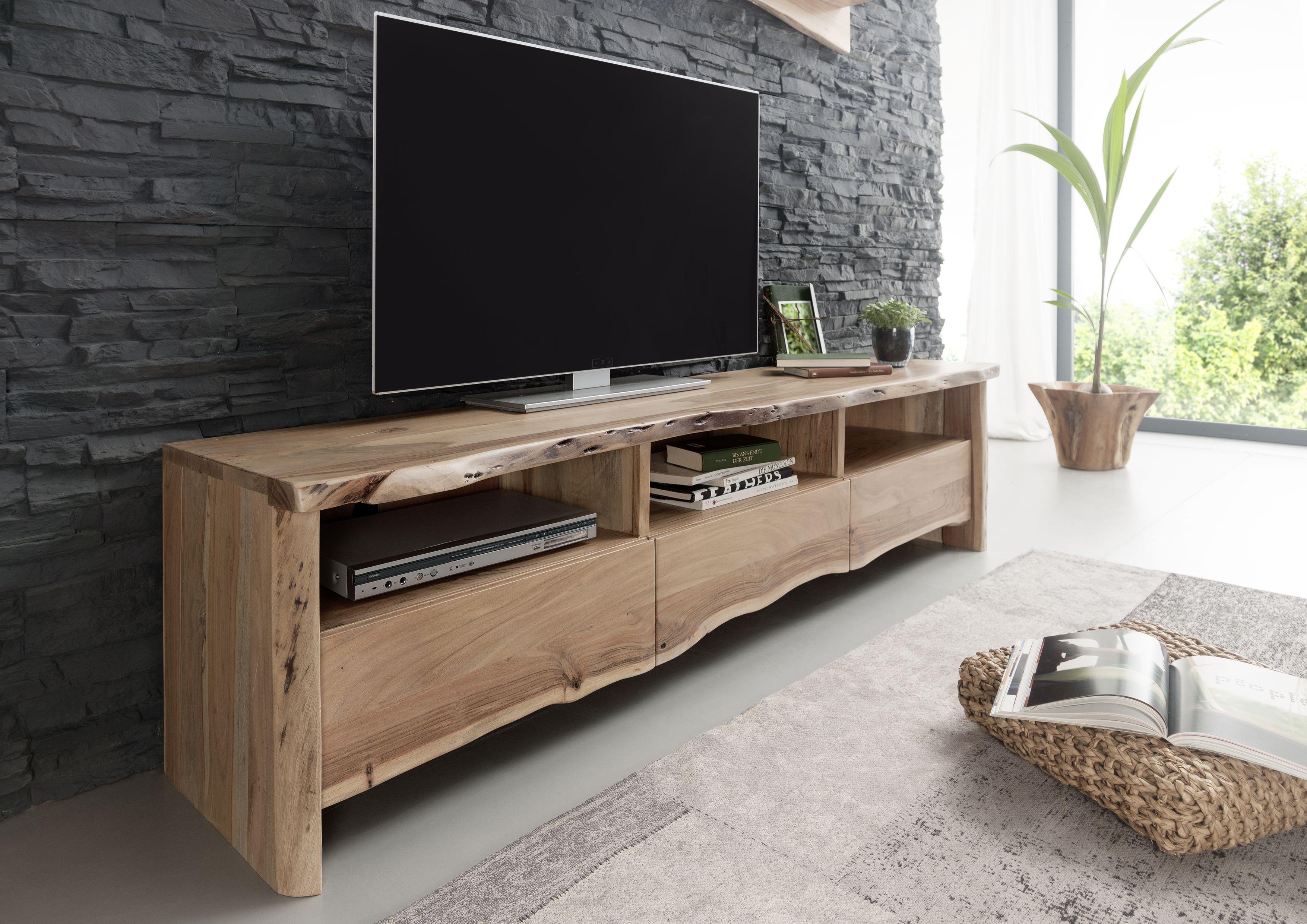 Baumkantenmöbel aus vollmassiver Akazie. Unsere Serie LIVE EDGE ...