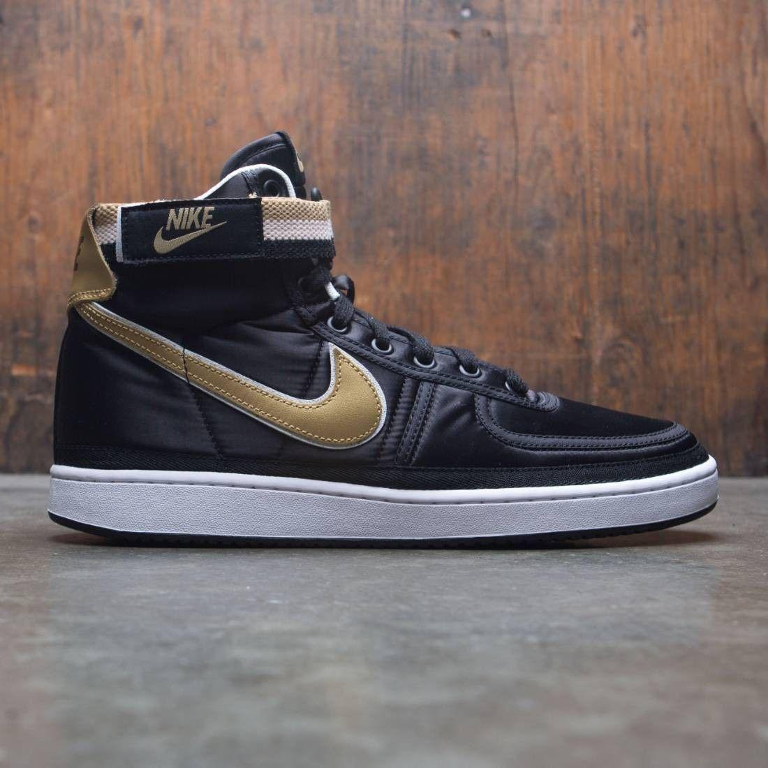 low priced 1a132 64229 Nike Men Vandal High Supreme (black  metallic gold-white)