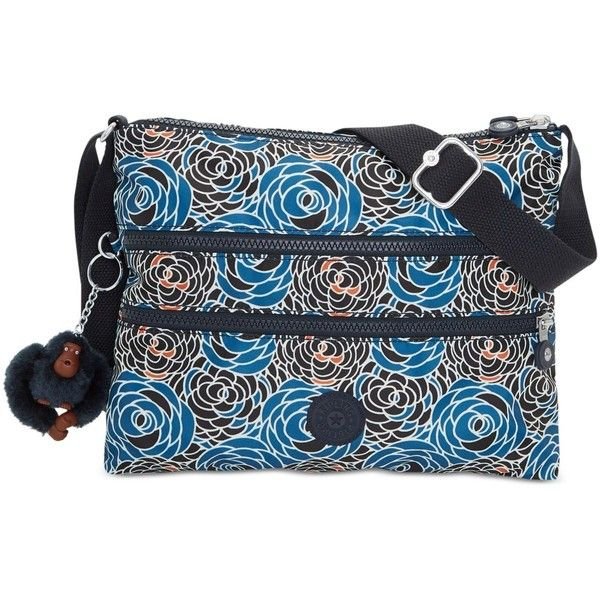 Kipling Alvar Crossbody (125 NZD) ❤ liked on Polyvore featuring bags,  handbags,