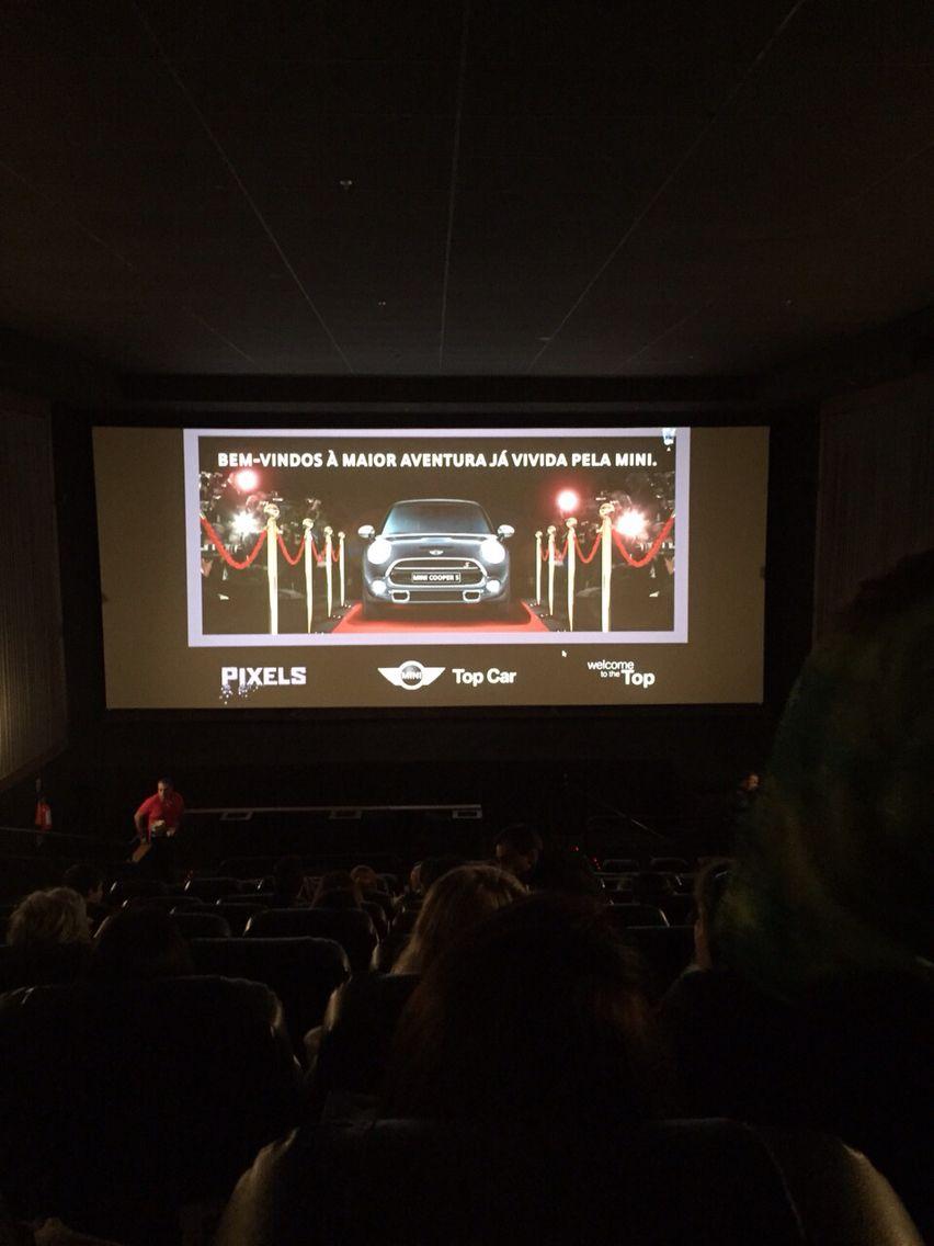 Sessão cinema especial Top. Car