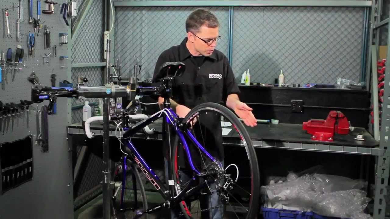 How To Adjust A Front Derailleur By Performance Bicycle Bike Repair Bicycle Bicycle Maintenance